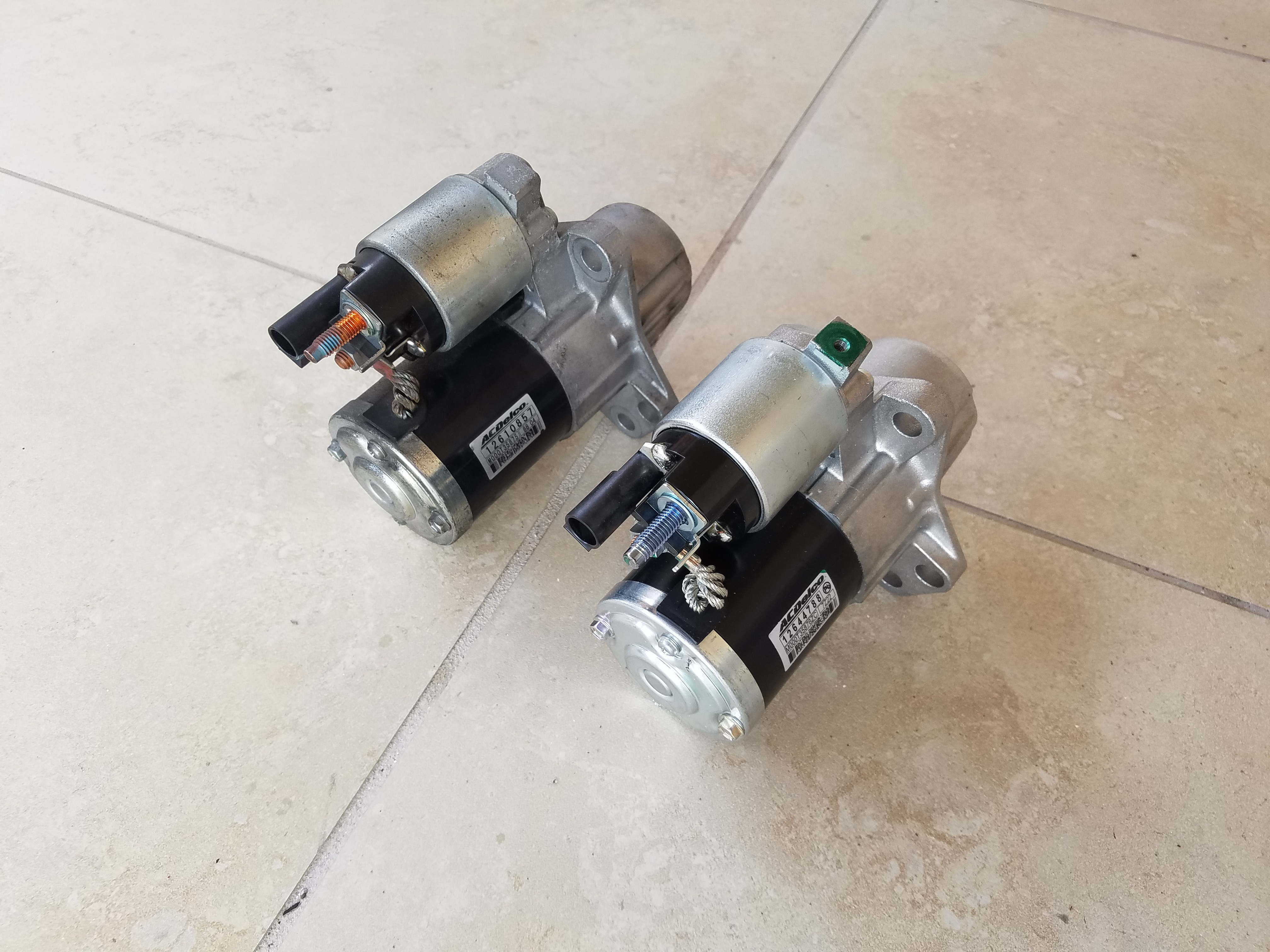 Cadillac CTS Starter Motor